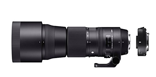 Sigma ZB955 150 - 600 mm F5-6.3 DG OS HSM Contemporary Lens with TC-1401 Converter Kit for Nikon...