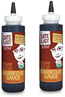 Organic BBQ Sauce | Gluten Free | Paleo Friendly | No Corn Syrup or Cane Sugar | No Added Flavors or MSG (14.5oz) (2-Pack)