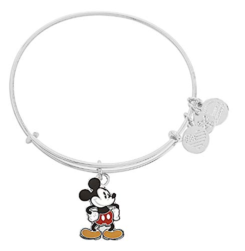 Alex and Ani Disney Bracelet Classic Mickey Mouse Silver