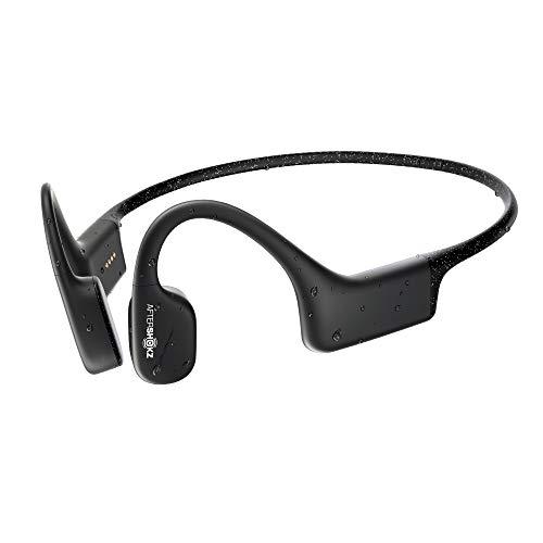 AfterShokz Xtrainerz Bone Conduction MP3 Swimming Headphones, Black Diamond