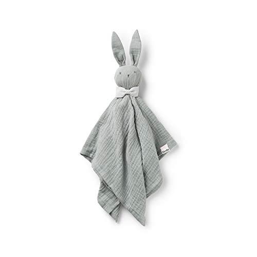 Elodie Details Kuscheltier Hase für Babys Blinkie Schnuffeltuch aus 100% Baumwolle - BO, Grün