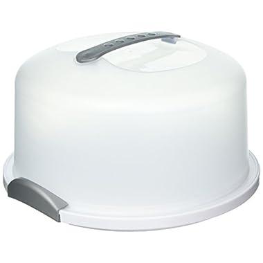 STERILITE 135089 Cake Server, 1 pack, White