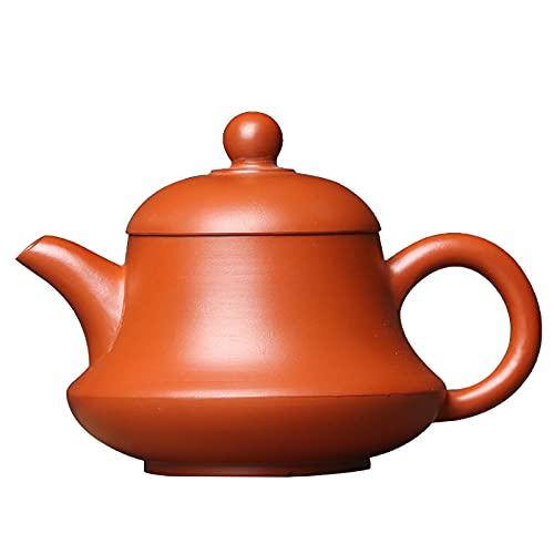 Tetera Juego De Té Teapot Tetera De Té Tea Kettle Pequeño Hervidor De Té De Arcilla Púrpura 90Ml De Arcilla Roja, Tetera...