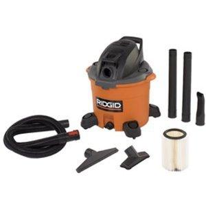 Ridgid WD1280 12 Gallon 5 HP High-Performance Wet/Dry Vacuum w/ Detachable Blower
