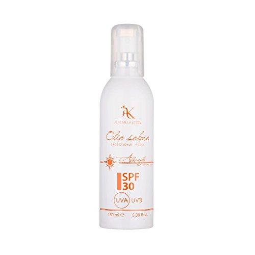 alkemilla – Huile Solaire Spray Protection SPF 30