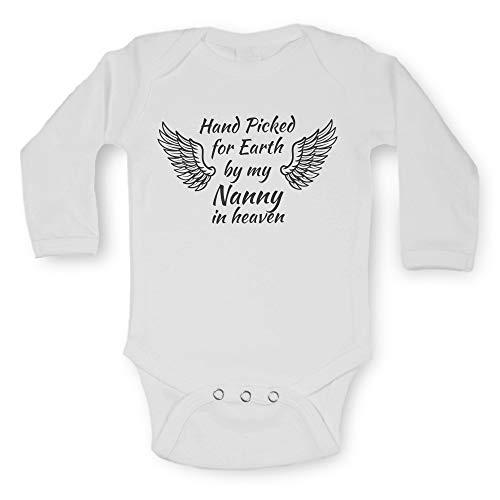 Unisexe bébé à manches longues gilets Funny Graphic phrase Imprimé bodies One Piece Body bébé pour garçons filles pour bébé – pour la Terre Sélectionnées par My Family in Heaven