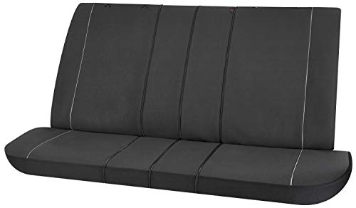 Walser Autositzbezug Modulo Rückbankbezug für Rücksitze schwarz universal passender Schonbezug 13559