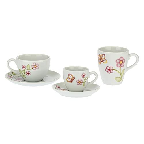 THUN Set de té, Color Blanco, Unica