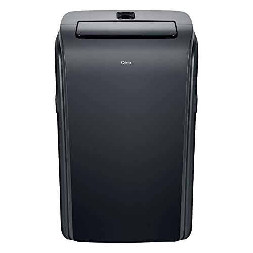 Acondicionador de Aire portátil con Wi-fi, P528 Negro Qlima, 2 en 1: acondicionador de Aire y deshumidificador, 9000 btu, Control Remoto, 3 velocidades
