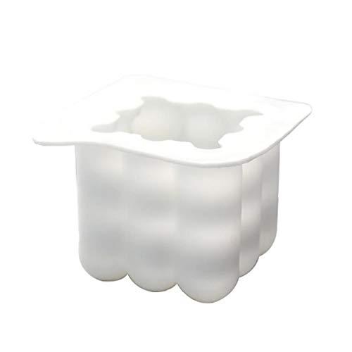 Piazza Palla Candela Stampi 3D Silicone Piazza Candele Realizzazione di Stampi Artigianato Ornamenti del Fondente Candela Profumata di Soia Cera Handmade Soap