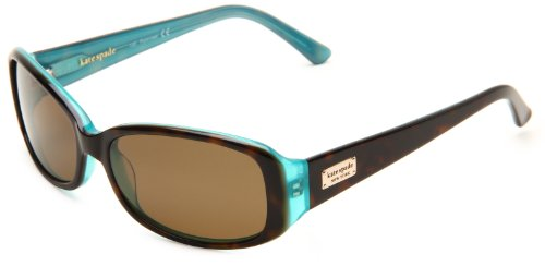 Kate Spade New York Women's Paxton Rectangular Sunglasses, Aqua...