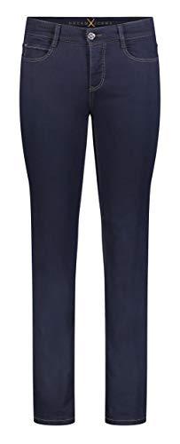MAC Damen Straight Leg Jeanshose Dream, Blau (Dark D801), W42/L32