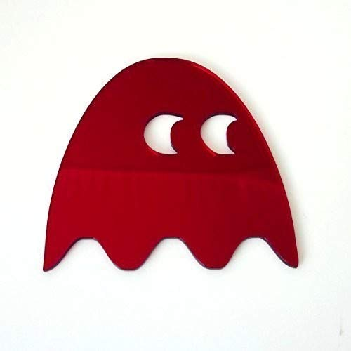 Super Cool Creations Rouge Ghost miroirs – 45 cm x 41 cm