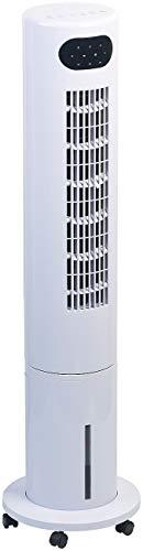 Sichler Haushaltsgeräte Ventilator mit Kühlung: 3in1-Turmventilator, Luftkühler & -befeuchter, 80° Oszillation, 40 W (Turmventilator mit Kühlung)