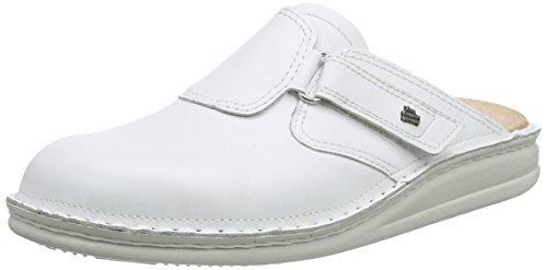 Finn Comfort Herren Venedig Clogs, Weiß (Weiss), 45 EU