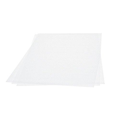 efco 1051901 Schrumpffolie, Kunststoff, 20 x 30 cm, Transparent mattiert 3 Bogen
