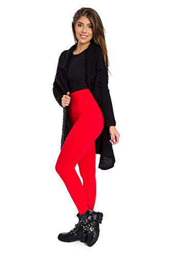 SOFTSAIL Damen dicke Winter-Leggings, hohe Taille, warme Schlankheitshose mit Formeinsatz P28