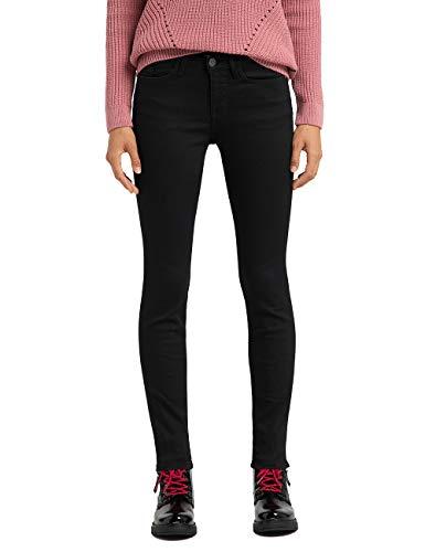 MUSTANG Damen Slim Fit Caro Jeans, Schwarz (Super Dark 940), Gr.- 28W / 30L