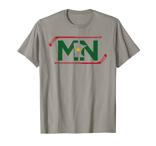 MN The State of Hockey T Shirt Unisex Adult and Kids