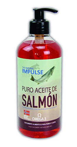 TODOPETS Aceite de Salmón de Noruega Impulse 500 ml