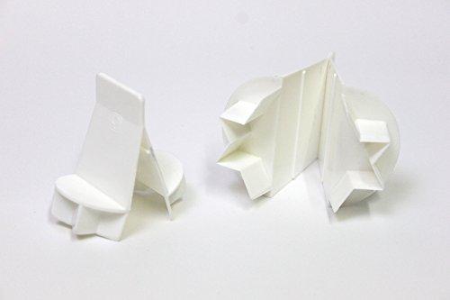 Städter 541016 Ausstecher, Kunststoff ABS, Weiß