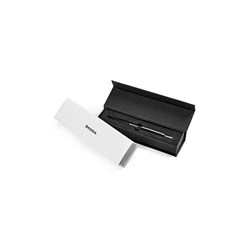 Skoda MVF03-501 Kugelschreiber mit USB-Stick 8 GB Original Accessoires Stift, Schwarz