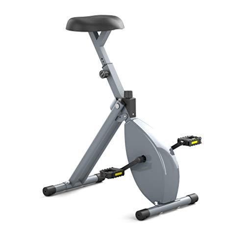 Deskbike - Termómetro para bicicleta (tamaño mediano, con sensor de frecuencia de pedaleo y sensor de velocidad, altura del cuerpo 165 - 185 cm, altura mínima del escritorio 105 cm, marco gris/gris)
