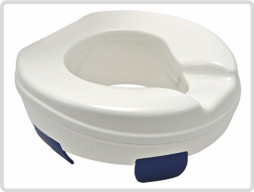 Toilettensitzerhöher Clipper, 10cm, ohne Deckel