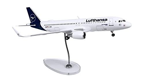 LW100DLH006 Airbus A320 Lufthansa New Livery D-AIZW Scale 1:100 w/Gear