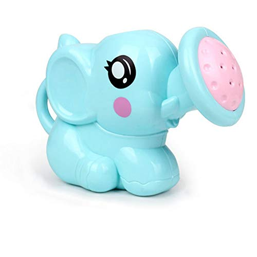 QiKun-Home Badspeelgoed voor kinderen Olifantendouche Cartoondouche Douche Ouder-kind Interactief speelgoed Water Comfortabel handvat blauw
