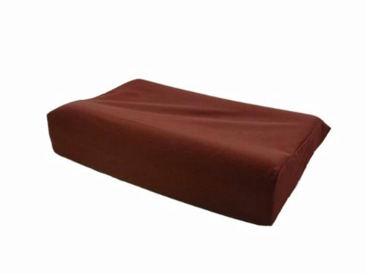 発信火星袋テンピュール用枕カバー オリジナルネックピロー用ピローケース サイズ:L?50cm×31cm×8.5cm/11.5cm ブラウン