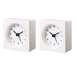 Ikea Decorative Alarm Clock Set of  2 Compact Size 2.75