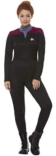 Damen Star Trek Voyager Command Uniform Jumpsuit TV Film Halloween Kostüm Outfit UK 0-14 (US 12-14)
