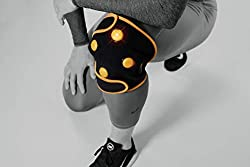 Myovolt Wearable Recovery Technology for Knee, Calf & Thigh - Vibration Therapy for Sore, Stiff, Painful Leg Muscles and Joints - Quick Relief and Recovery from Sprains, Arthritis, Ligament Injuries