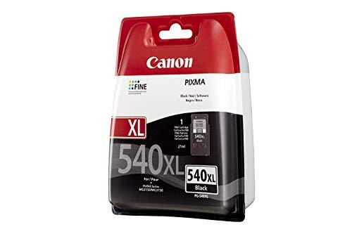 Canon Pg-540Xl - Cartucho de tinta, color negro