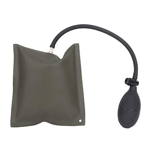 Tiny Pump Pump Bag, materiale in gomma poliuretanica Qualità Polopethane Gomma Air Materasso Air Pompa in materiale composto per la finestra porta (verde scuro)