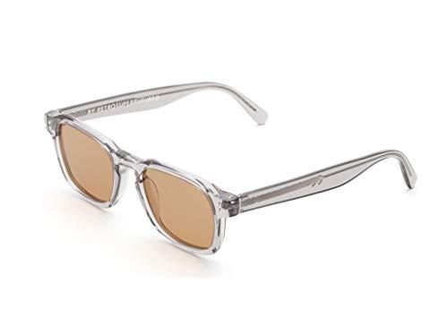 Retrosuperfuture Gafas de sol QAX Luz de niebla gris tamaño de 49 mm de gafas de sol unisex