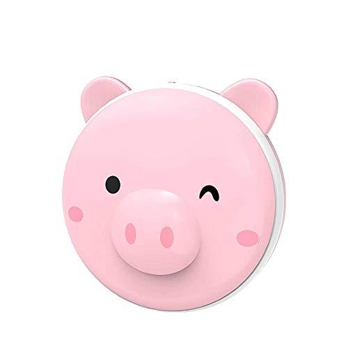 IPRE Ricaricabile Hand Warmer, USB Portatile Carino Rosa Pig Hand Warmers Riutilizzabile con LED Fill Light Electric Hand Warmers per Gli Sport all'aperto pink1