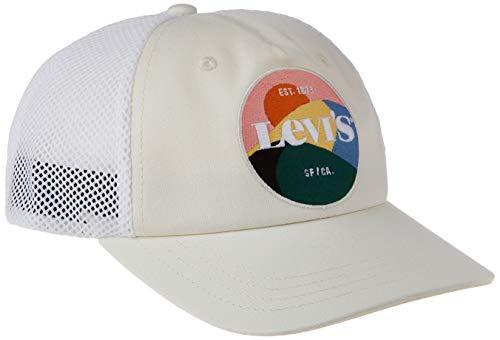 Levis Womens Mesh Back Baseball Cap OV-Seasonal Graphic Gorra de bisbol, Crudo, Talla única para Mujer