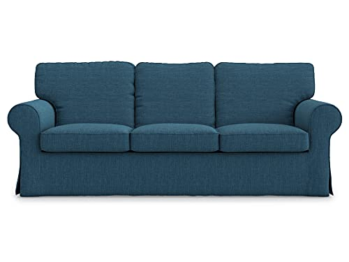 Ektorp - Funda de repuesto para sofá de 3 asientos de Ikea Ektorp