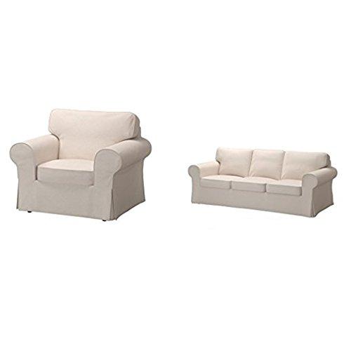 Ikea Chair Cover Lofallet Beige 228.8520.3422