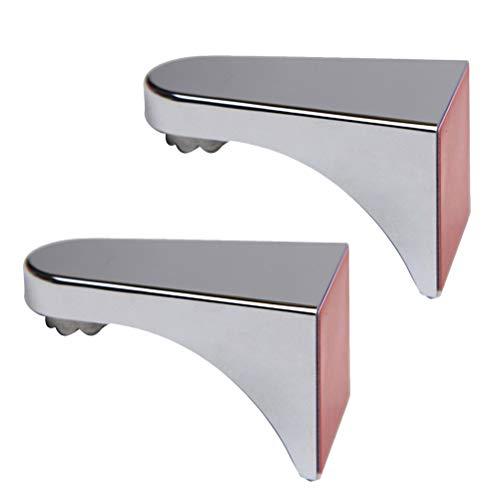 TOPBATHY Magnetische Seifenschale Wandmontage Seifenhalter für Badezimmer Wand 2 Stücke