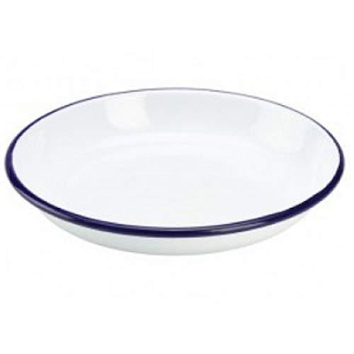 Plato para pasta/arroz Genware 45624, Enamel, 24 cm