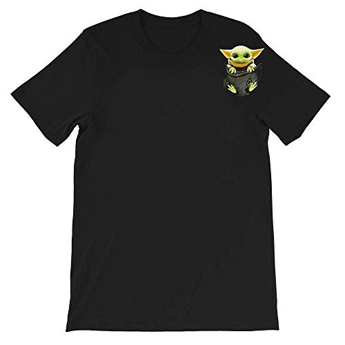 #Star #Wars Movies Baby #Yoda in Pocket Shirt Gift Graphic Unisex T-Shirt