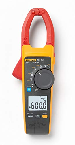 Fluke 375FC Multimetro a pinza 600A, 1000V AC DC, TRMS, datalogger, frequenza, Fluke Connect