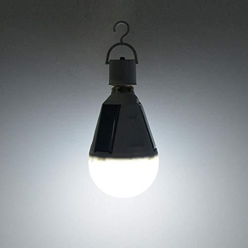 Luce Da Campeggio Caricabatterie Solare Lanterna Portatile Lampadina A Led E27 Lampada Solare Di Emergenza Ricaricabile Impermeabile Tenda Da Campeggio Esterna Torcia-12W