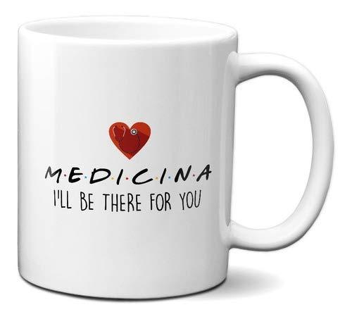 Caneca Medicina Friends Presente Criativo Médico Frases