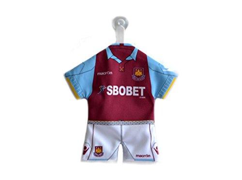 Originele West Ham United FC Spurs Mini Kit Short voor auto/raam NIEUW
