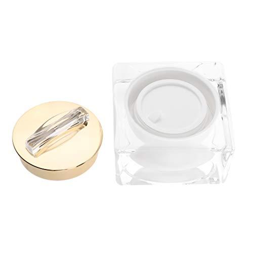 B Blesiya Pot Cosmétique Vides Bouteille Maquillage Voyage Boîte Cosmétique Vide Stockage Crème Poudres Onguent - 15 g