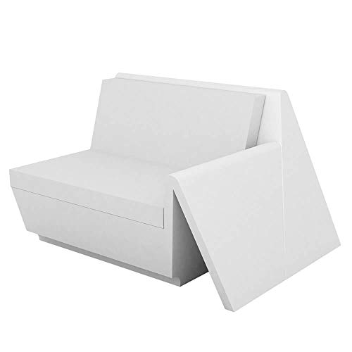 Vondom Rest canapé module gauche blanc